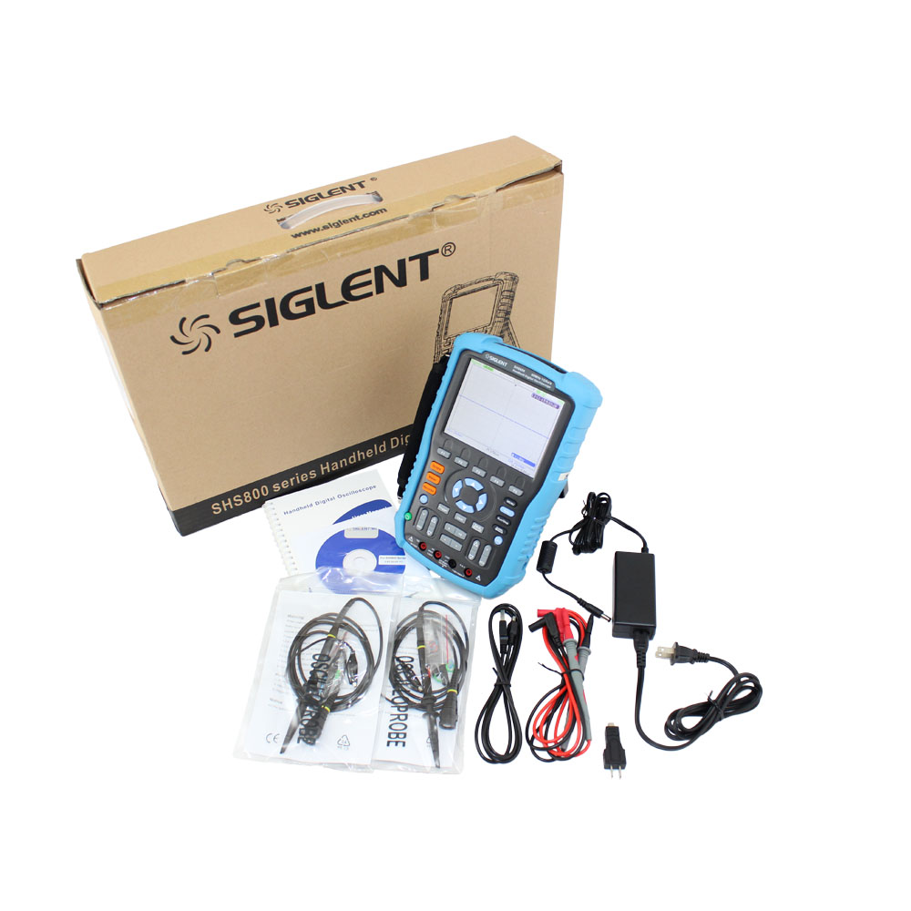 SIGLENT SHS806 Handheld Oscilloscope 1 Ghz Sampling Rate