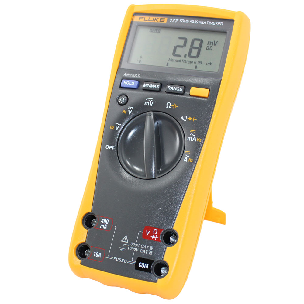 new true rms digital multimeter fluke 177 circuit specialists rh circuitspecialists com fluke 23 user manual fluke 23 user manual