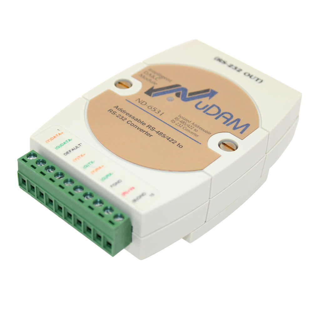ADDRESSABLE RS-422/485 TO RS-232 CONVERTER