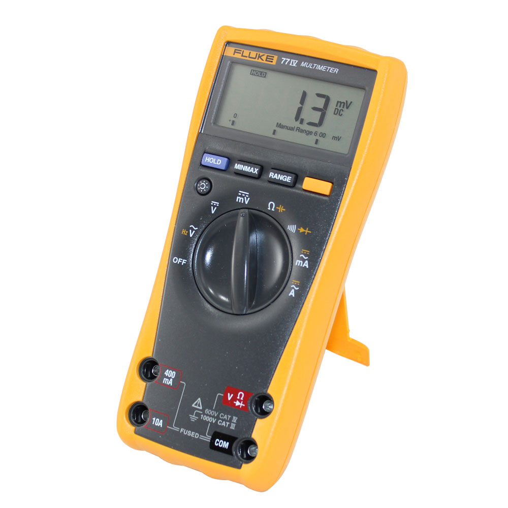 New IV Series Digital Multimeter - FLUKE 77-4 | Circuit
