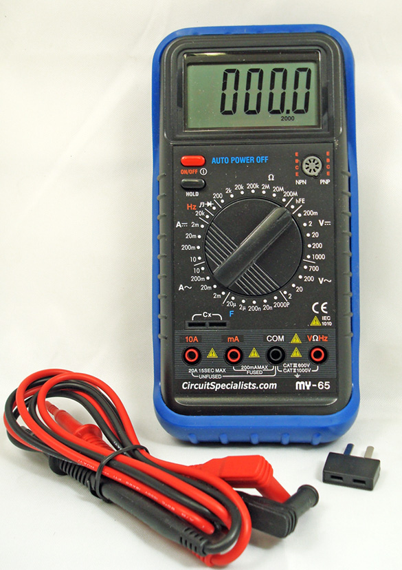 Discontinued - High Accuracy 4-1/2 Digit LCD Digital Multimeter