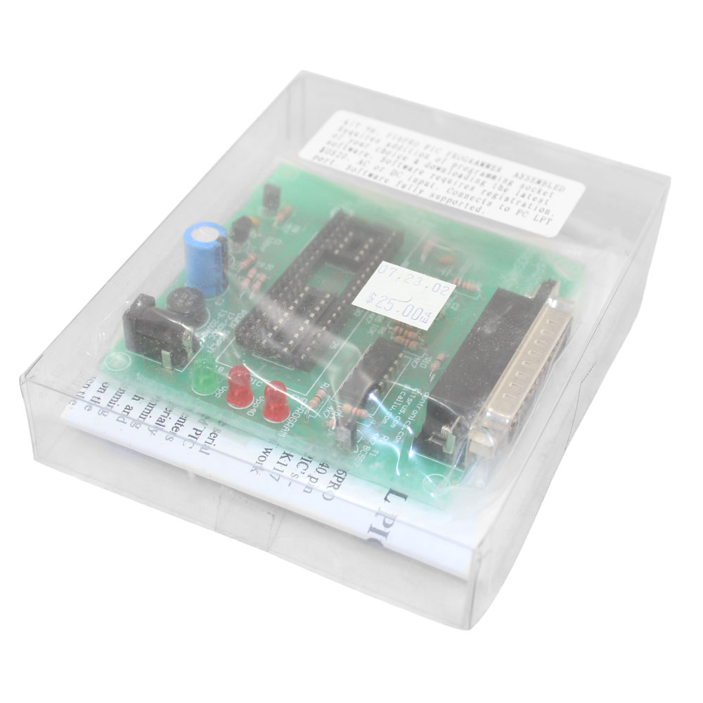 Assembled Parallel Port Pic Programmer Board For Pic18f2550