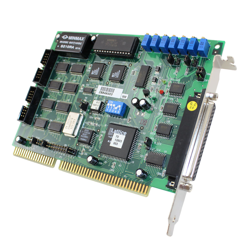 16/12-BIT HIGH PERFORMANCE DAS CARD