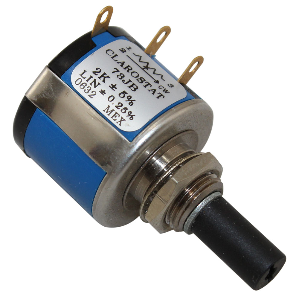 2 Watt 2k Precision 10 Turn Potentiometer