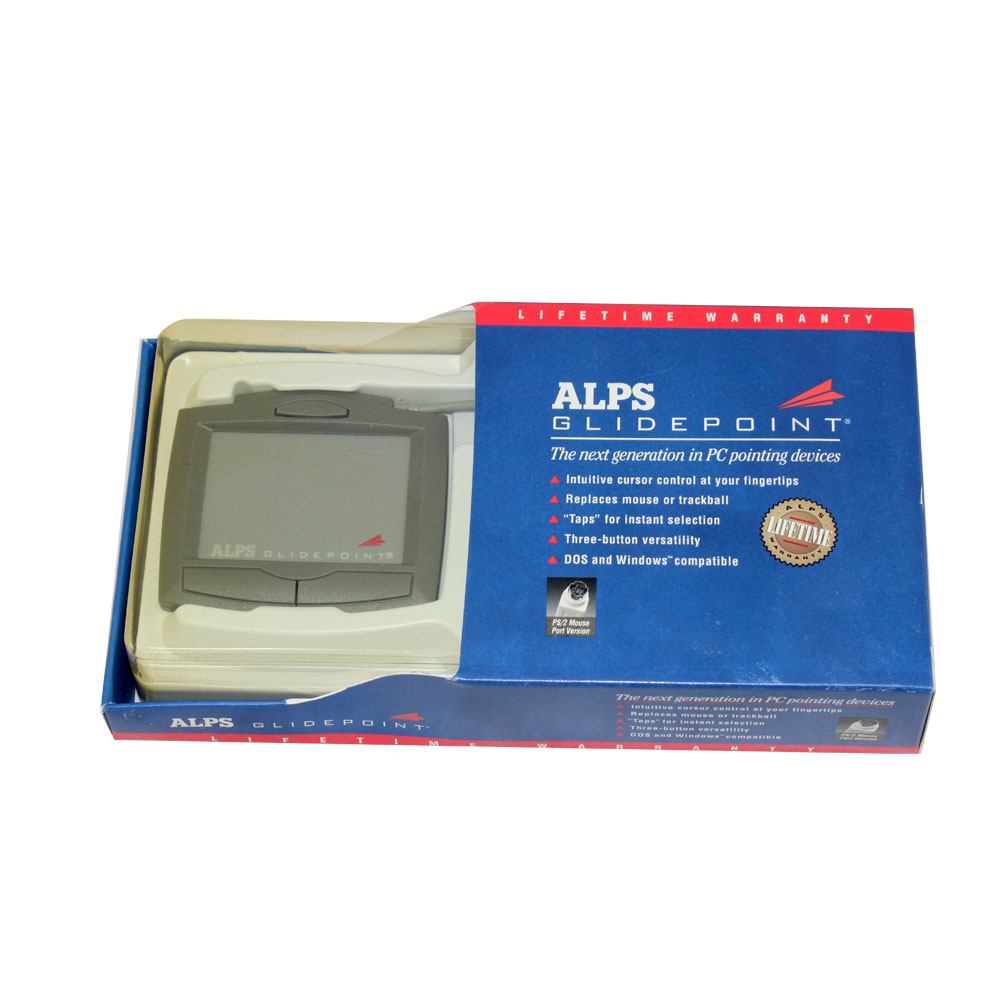 DOWNLOAD DRIVER: ALPS GLIDEPOINT TOUCHPAD