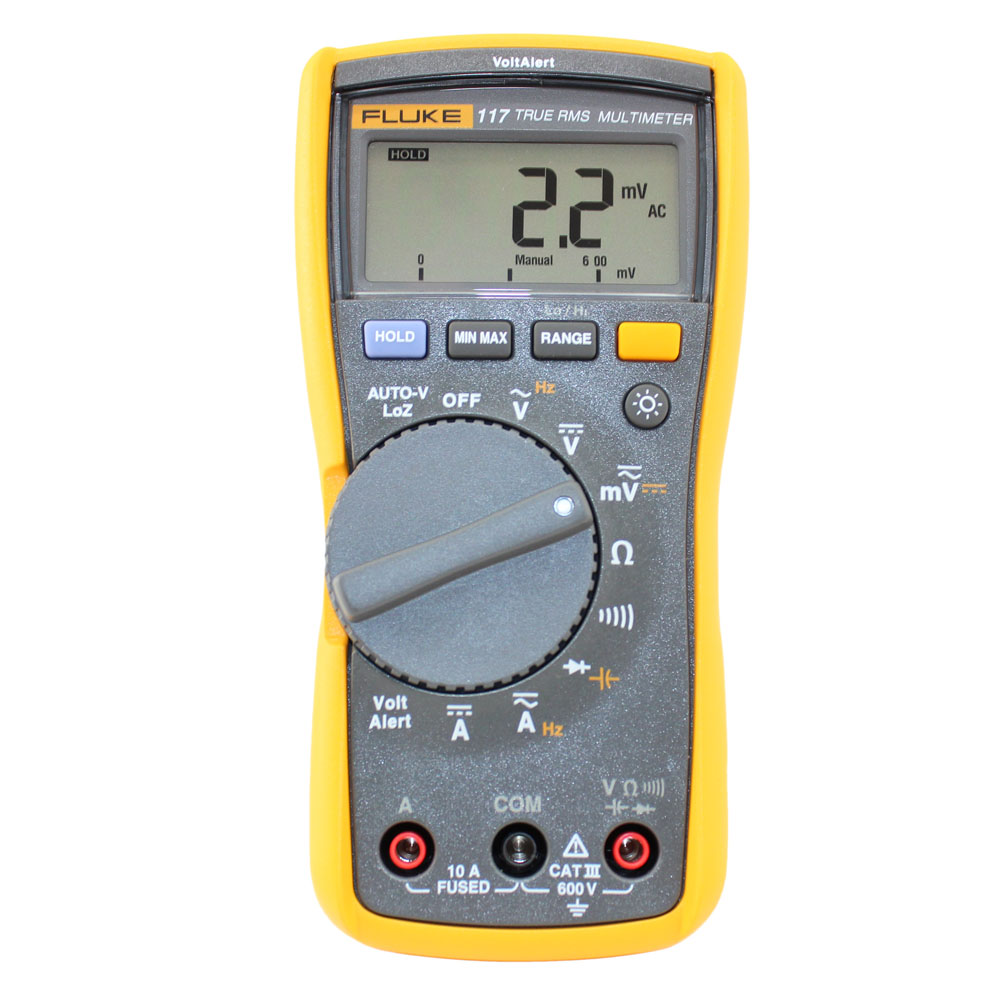 Fluke 117 Commercial Electrician's Digital Multimeter