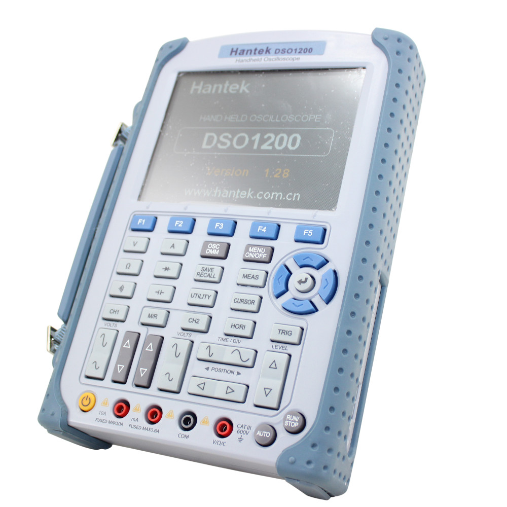 Hantek 200MHz Handheld Oscilloscope with Digital Multimeter and 500 MS/s Sample Rate