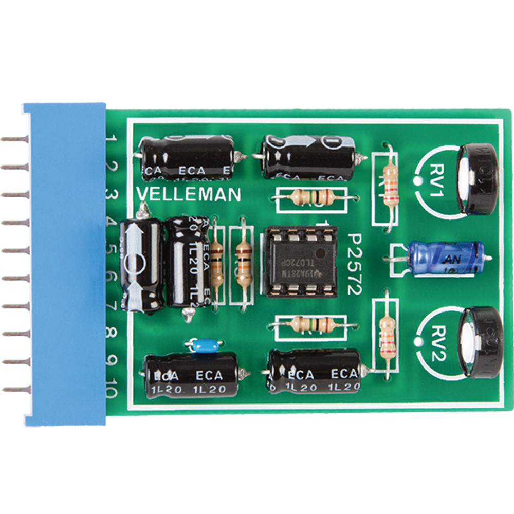 Universal Stereo Preamp Kit Pic Programmer Circuit