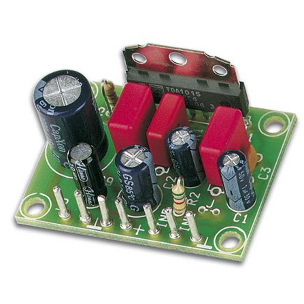 25 Watt Super Mini Audio Amp Kit Circuit
