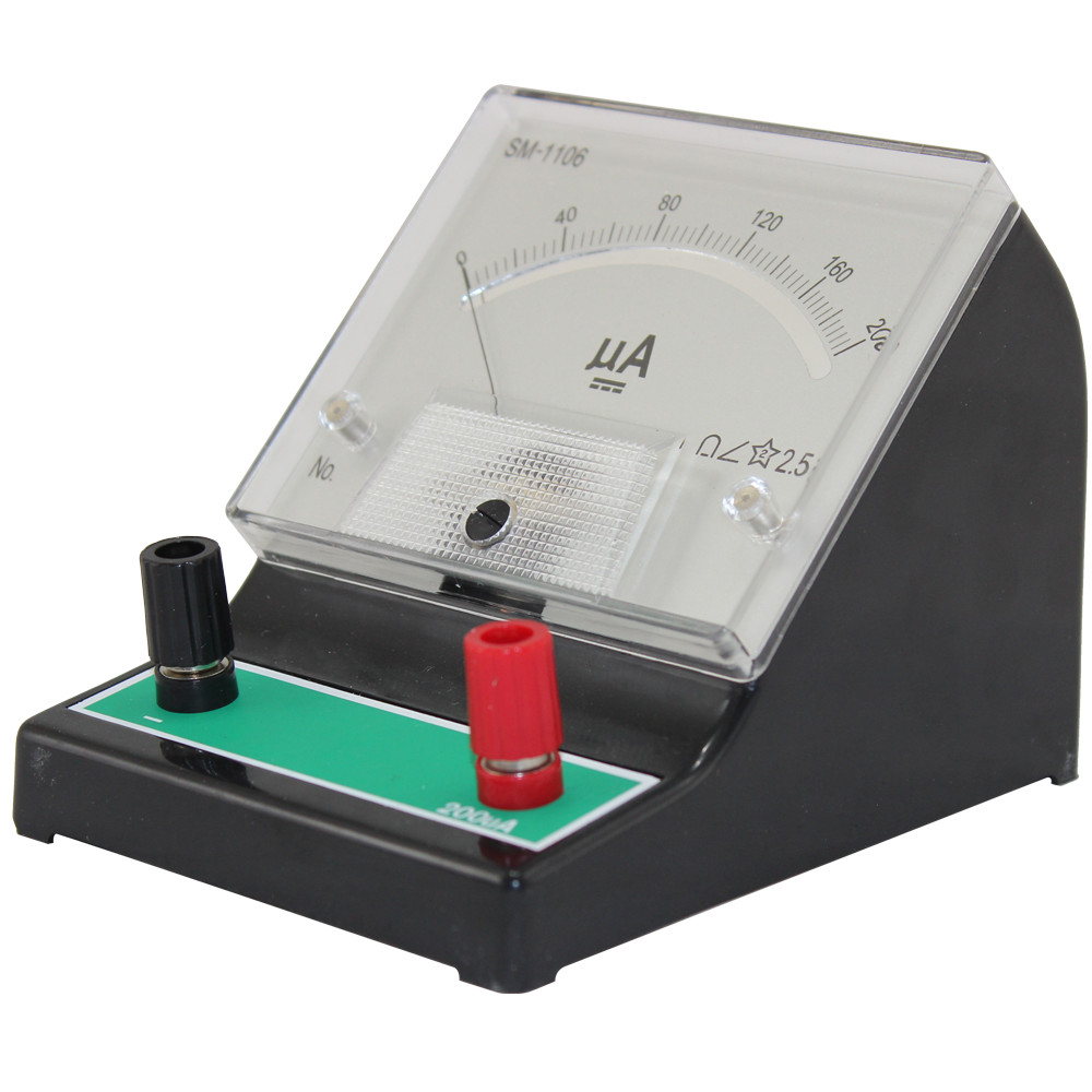 Educational DC Ammeter - 0~200µA DC