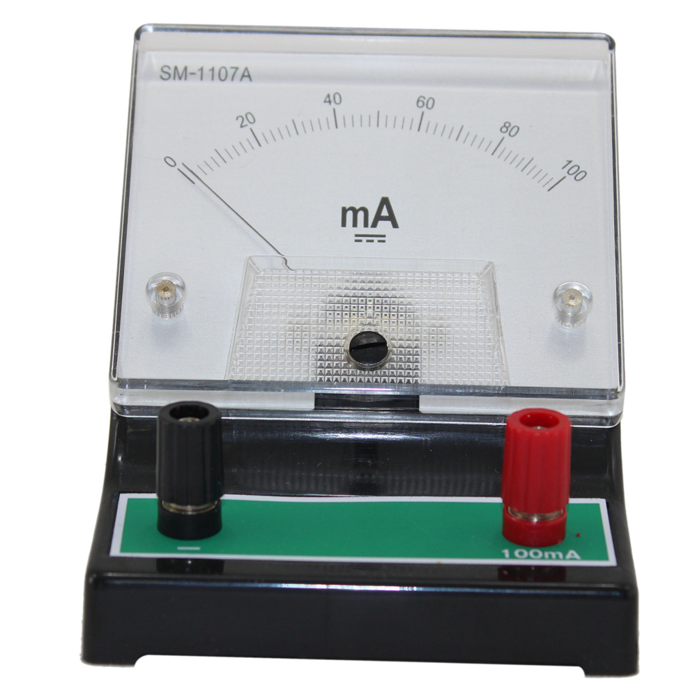 Educational DC Ammeter - 0~100mA DC