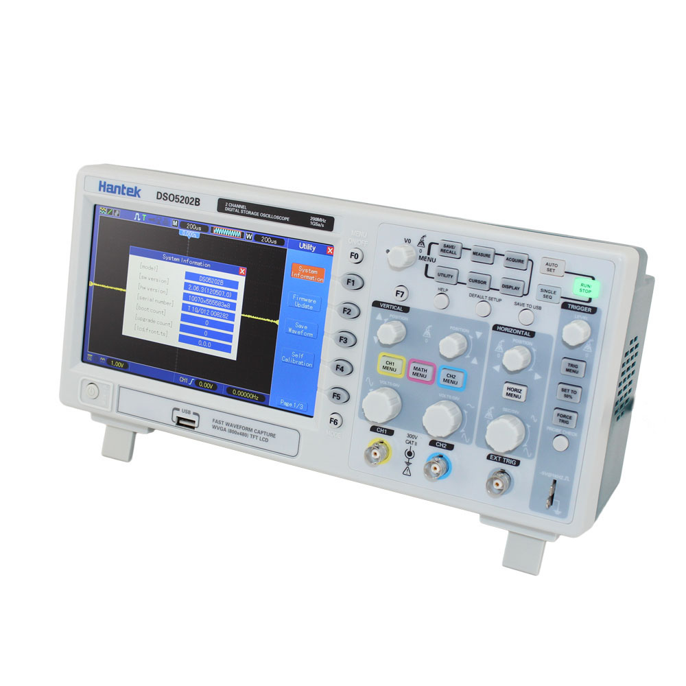 Digital Storage Oscilloscope : Hantek dso b mhz channel digital oscilloscope