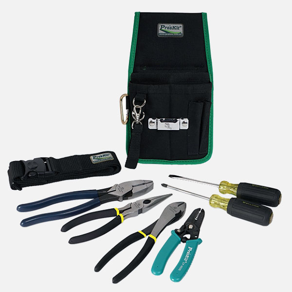 8 Piece Electrician Toolkit