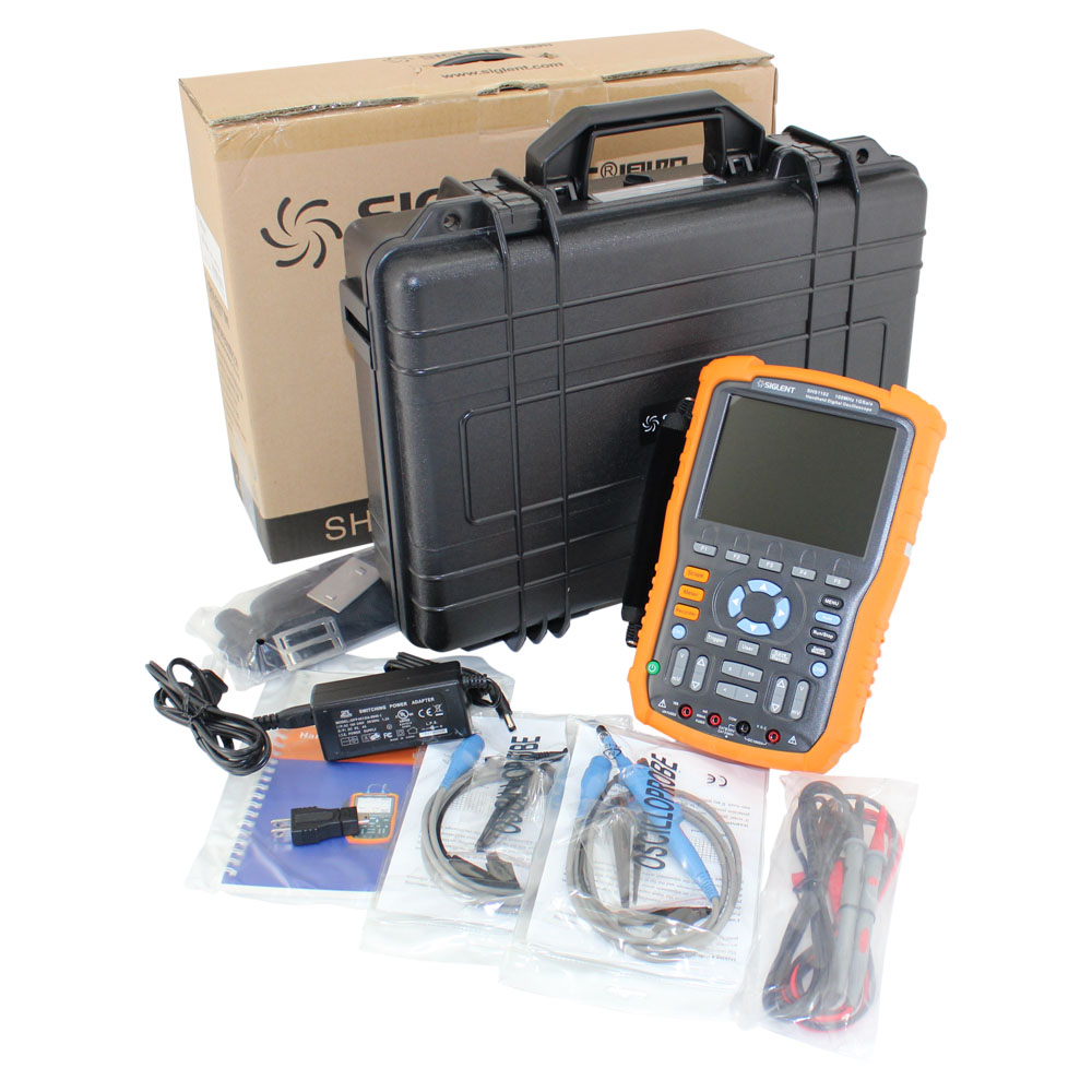 Siglent 100MHz High Isolation Handheld Oscilloscope with DMM Functions
