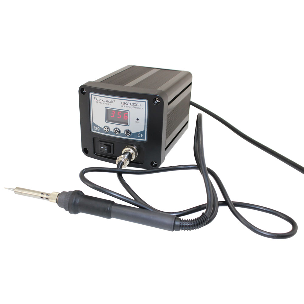 Premium Solder Station with Microprocessor Controls & Digital Display