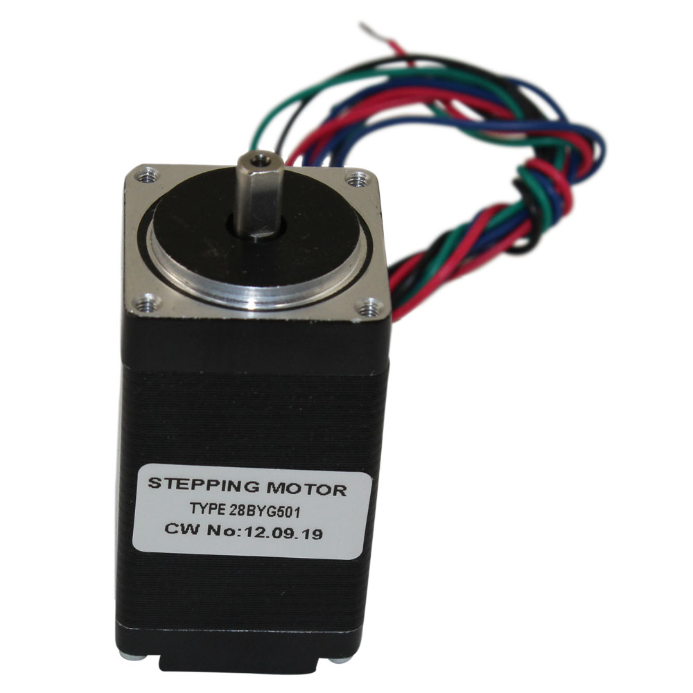 Stepper Motors Nema Controllers Picture Of Finish Motor Generator Circuit 10 Kg Cm 4 Wire 11