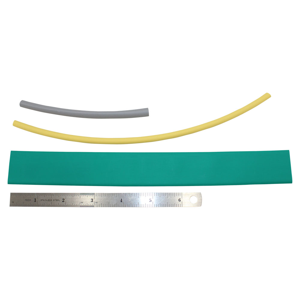 156 PIECES ASSORTMENT OF COLORED THIN WALL TUBING