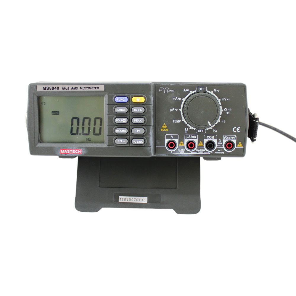 Mastech 4.5-Digit True-RMS Autoranging Bench Digital Multimeter