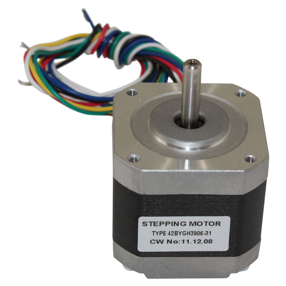 Nema 17 stepper motor 42bygh3906 on motor brushes