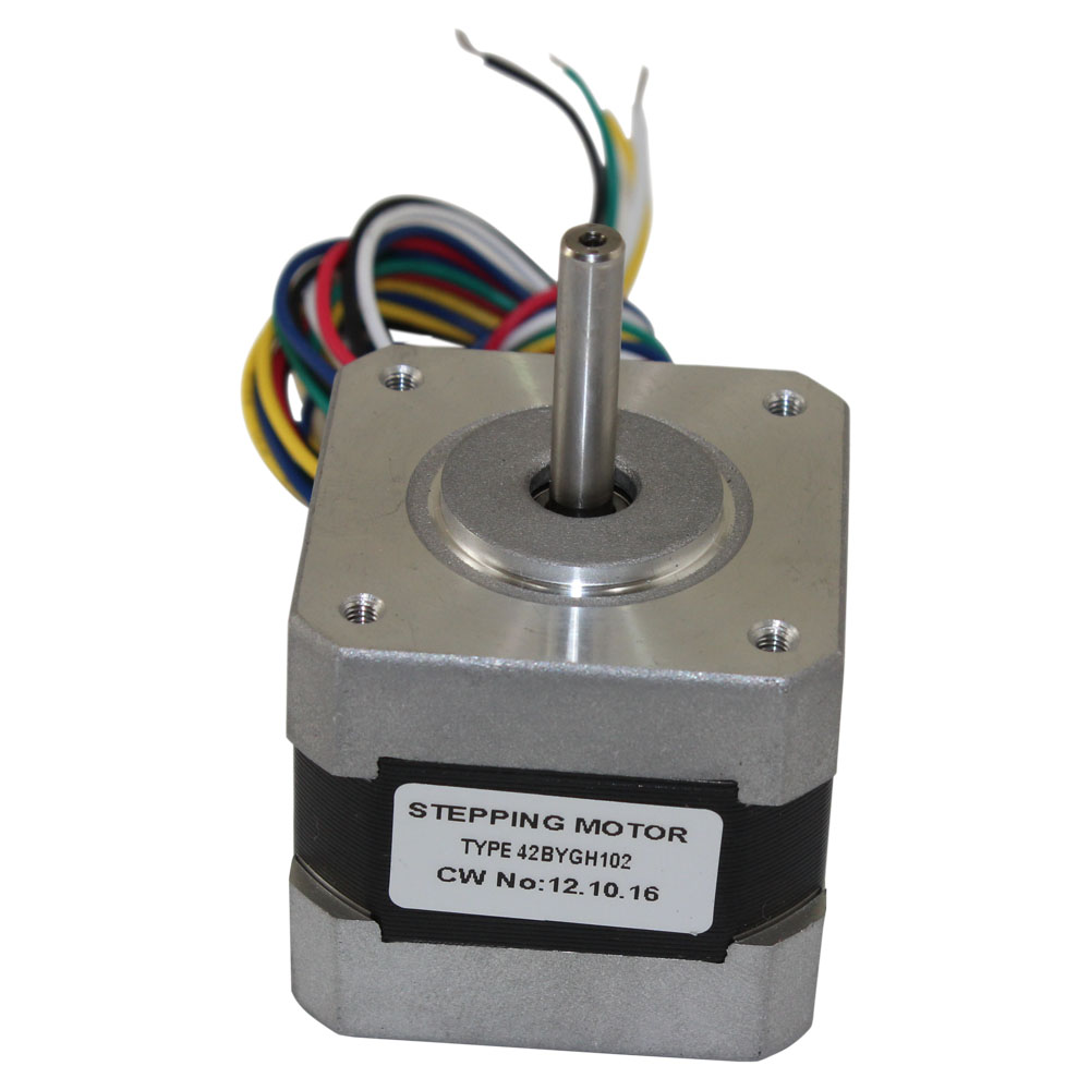 Nema 17 stepper motor 2 4 kg cm 6 wire 42bygh102 for What are stepper motors
