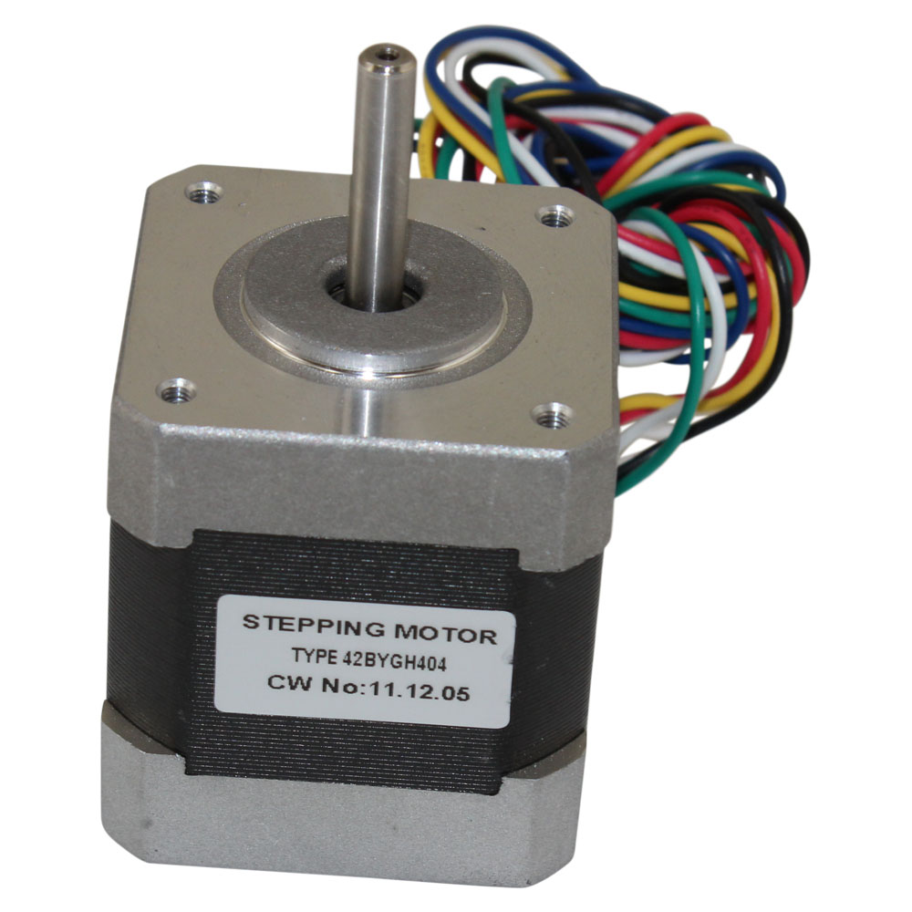 3 Wire Stepper Motor Wiring Great Design Of Diagram Basics Nema 17 4 Kg Cm 6 42bygh404 Lead