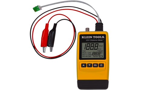 Cable length meter and fault finder