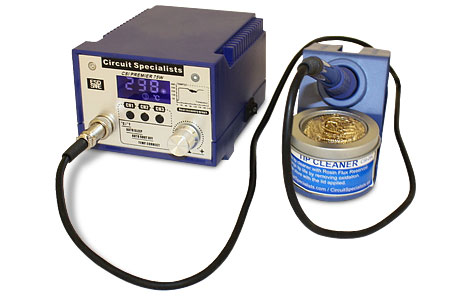 Circuit Specialists 3-Channel 75W Soldering Station