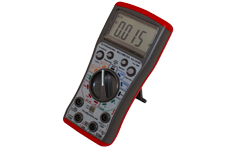 True-RMS autoranging multimeter