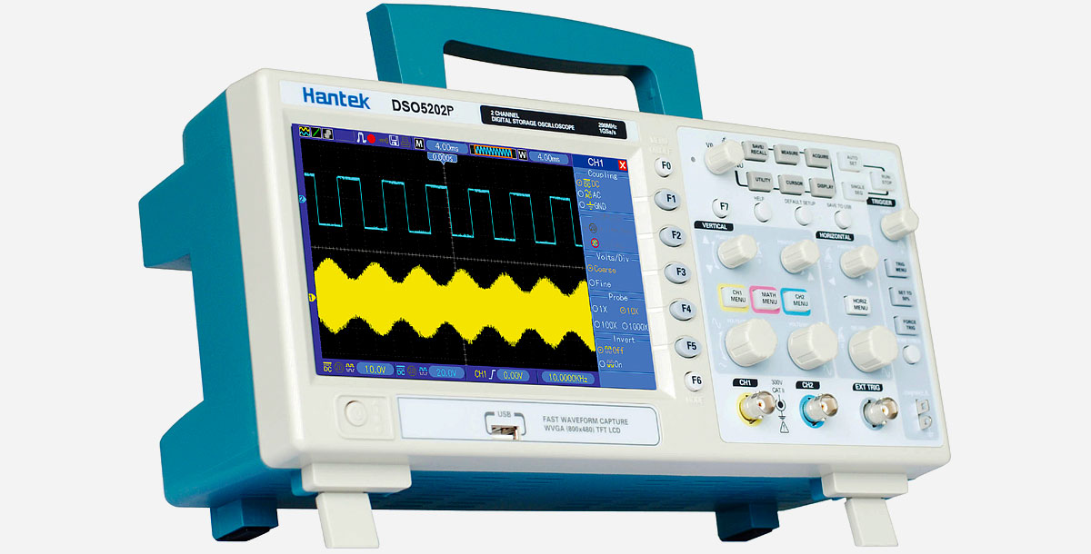 200 MHz Oscilloscope by Hantek
