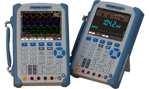 Hantek handheld oscilloscopes