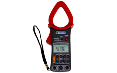 Clamp-on ammeter/multimeter