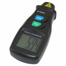 Digital Laser Tachometer with LARGE LCD