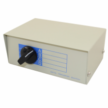 4 Position (A/B) DB25 Female Switch Box
