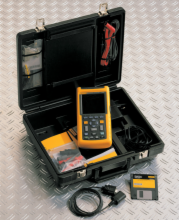 FLUKE 123 Industrial ScopeMeter with SCC Option Pack