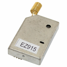 915MHz RF shielded transceiver module with antenna
