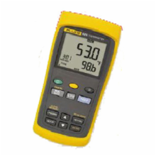 FLUKE 53-2 Single Input Thermometer with Recording