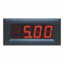 3-1/2 Digit LED Digital Panel Meter - 5V Common Ground