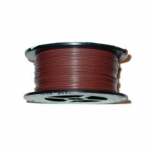 22AWG 100' SOLID BROWN WIRE