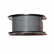 22AWG 100' SOLID GRAY WIRE