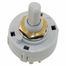 1 Pole 2-12 Position Hi-Rel Adjustable Rotary Switch