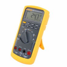 Fluke True-RMS Digital Multimeter with Thermometer