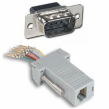 DB9-M to RJ45 with Key