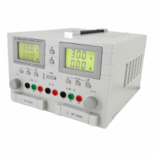 0-30VDC 0-5A Dual Output Bench Power Supply plus 5VDC 3A Fixed