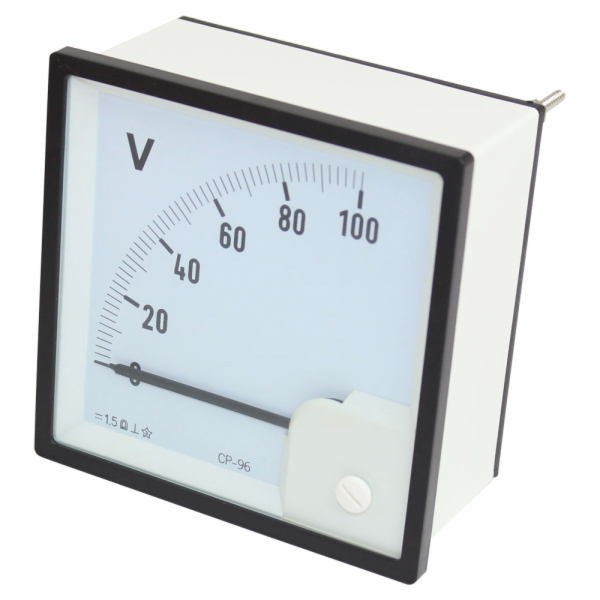 Analog Panel Meter : Volt dc voltmeter analog panel meter circuit