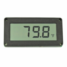 LCD Digital Temperature Display - Fahrenheit
