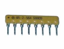 10 Ohm 8 Pin 4 Resistor Thick Film Sip Networks 2%