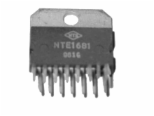 IC-LINEAR HIGH PWR SWITCH REG (NTE1681)