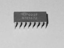 IC-LINEAR PWR SUPPLY CONTROL (NTE1672)