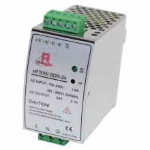 24 Volt 2.1 Amp DIN Rail  Power Supply
