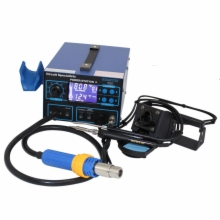 Deluxe HI Powered Hot Air, 75 Watt Soldering Iron,Suction Pickup Wand